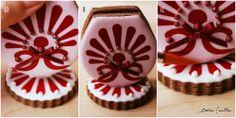 Flores de Pascua: Cómo hacer galletas 3D. Nivel II {Foto Tutorial}  3D  Easter Flower Cookies #Tutorial