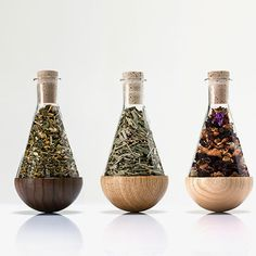 Set of 3 Herb Bottles by URBANATURE #MONOQI