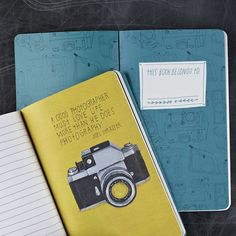 Inspiring Quotes By Famous Photographers Fill a New Journal - My Modern Metropolis