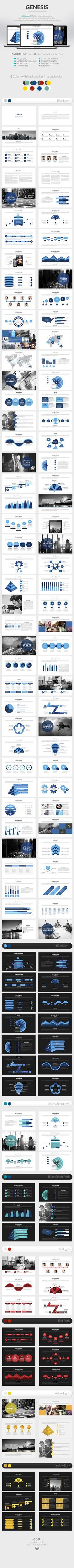 Genesis   Powerpoint Presentation Template #powerpoint #powerpointtemplate #presentation Download: http://graphicriver.net/item/genesis-powerpoint-presentation/8851694?ref=ksioks