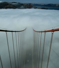 sometimes the way over the bridge is clouded and not clear