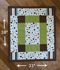 finished quilt measurements how to make baby quilt
