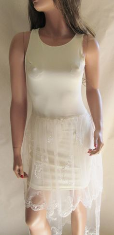 Beige BodyCon Dress by GnGHandmade on Etsy, $65.00