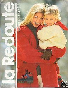 ▬► Catalogue LA REDOUTE AUTOMNE - HIVER 1990 / 1991 JOUETS_MODE VINTAGE
