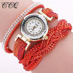 Fashion Luxury Rhinestone Bracelet Women Watch Ladies Quartz Watch