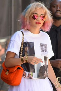 Celebs Make a Statement in Mirrored Sunglasses—Here's How to Wear 'Em