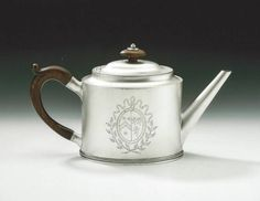 Hester Bateman Very Fine George III Teapot   From a unique collection of antique and modern sterling silver at https://www.1stdibs.com/furniture/dining-entertaining/sterling-silver/