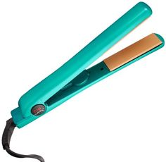 "CHI Air 1"" Ceramic Flat Iron in True Teal - Ionic Tourmaline Hair Straightener"