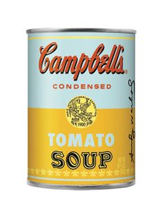 Campbell's soup special edition packaging!