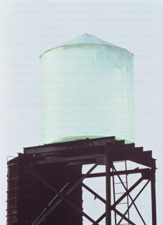 Sit up on a: water tower & talk: the night away