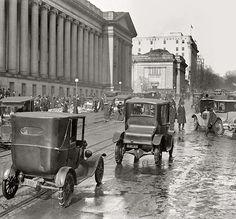 Washington, D.C., in 1918. Fifteenth Street