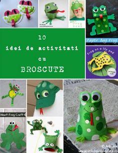 idei de activitati cu broscute