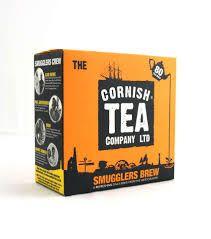 the cornish tea company Smugglers Brew 80 tea bags £3.99