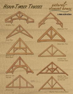 Timber Frame Trusses.