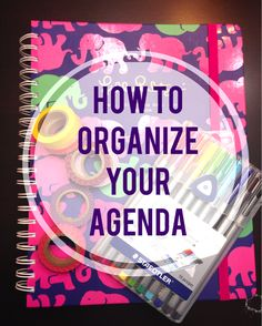 How to Use and Organize Your Lilly Pulitzer Agenda