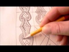 How to draw tanglepattern Beloved - YouTube