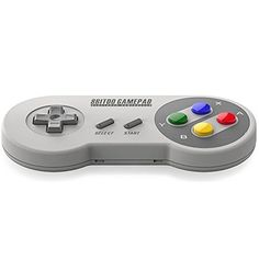 8bitdo SFC30 Wireless Bluetooth Controller Dual Classic Joystick for IOS / Android Gamepad - PC Mac Linux
