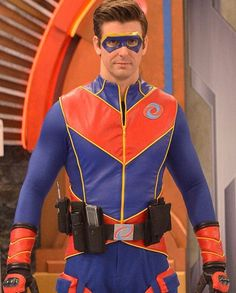 I have a man- crush on Captain Man. wait that doesn't work since I'm a lady Jason Norman, Henry Danger Jace Norman, Super Hero Outfits, Super Hero Costumes, Henry Danger Costume, Ray Manchester, Capitan Man, Henry Danger Nickelodeon, Freddy 2