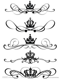 more crowns tattoos