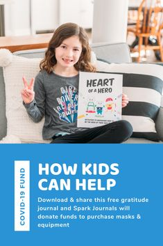 Get these great gratitude activities for your kids, and support healthcare workers! Emotional Resilience, Emotional Regulation, Growth Mindset For Kids, Things To Do At Home, Confidence Building, Positive Mindset, Kids And Parenting, Gratitude, Activities For Kids