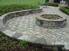 Has anyone tried to make their own fire pit? I know you can buy them, but I like the look of the ones that are in the ground or ground level and made of pavers/bricks. Like this: I know paver wor