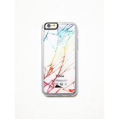 Rainbow Crushed iPhone Case (40 AUD) ❤ liked on Polyvore featuring accessories, tech accessories, free people iphone case, apple iphone cases, free people, iphone cover case and iphone case