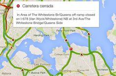 #Google Maps muestra la información de incidentes de #Waze