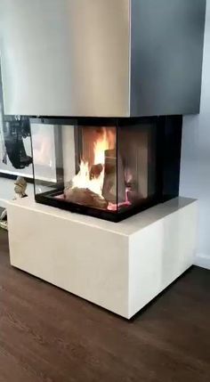Fireplace Built Ins, Home Fireplace, Fireplace Design, Modern Fireplaces, Dimplex Electric Fireplace, Modern Electric Fireplace, Ideas Terraza, Traditional Dining Rooms, Traditional Kitchens