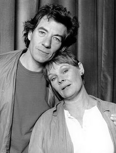 Judi Dench and Ian McKellen 1985. Isn't this just all kinds of fabulous?