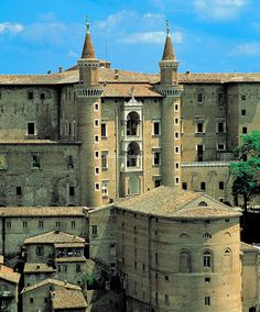 URBINO, Palazzo Ducale where the Galleria Nazionale delle Marche is.  It's one of Italy's best held secrets, famous art by Renaissance artists, without the crowds.