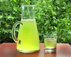 Te verde frio  refresco sano