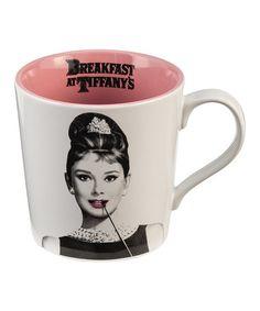 Loving this Audrey Hepburn 'Believe' Ceramic Mug on #zulily! #zulilyfinds