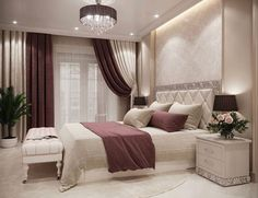 Schlafzimmer In contact with, This is not the only landscaping picture that your land Luxury Bedroom Design, Bedroom Bed Design, Bedroom Furniture Design, Home Room Design, Home Decor Bedroom, Home Interior Design, Living Room Decor, Ikea Bedroom, Bedroom Small