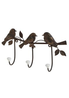 Three Little Birdies Wall Hook. And yes, in case you hadn't guessed, my future apartment will be entirely furnished through Modcloth.