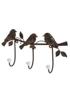 Tree Little Birdies Wall Hook, #ModCloth