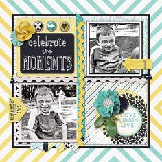 Celebrate the Moments using The Little Things by Penny Springmann from Sweet Shoppe Designs