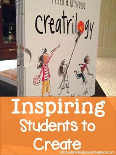 Secondgradealicious: Beginning of the Year Read Alouds! So excited! Great book for inspiring students to create!
