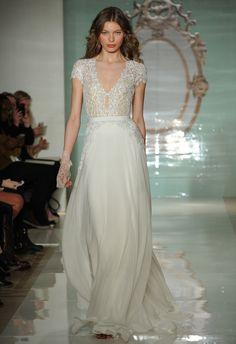 Reem Acra Spring 2015 #wedding #dress #weddingdress | Bridal Fashion Week