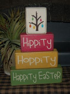 Etsy - Easter blocks