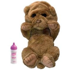 Hasbro Fur Real Newborn Luv Cub Now little girls can nurture and care for their very own Newborn This soft cuddly newborn awakens http://www.comparestoreprices.co.uk/soft-toys/hasbro-fur-real-newborn-luv-cub.asp
