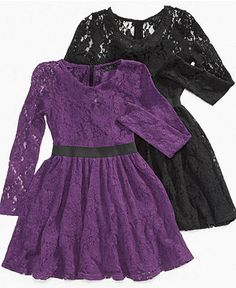 Jessica Simpson Kids Dress, Girls Lillian Lace Dress - - Macy's