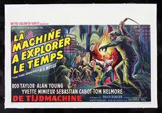 belgium movie posters | ... MACHINE * CineMasterpiec es SCI FI BELGIUM ORIGINAL MOVIE POSTER 1960