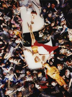 Faye Dunaway: Day of the Locust photo by David LaChapelle, 1996
