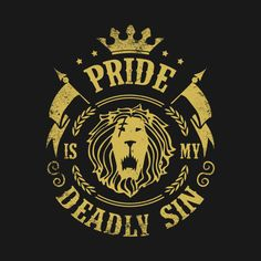 "I only pity them"" - Escanor Lion's Sin of Pride of the Seven Deadly Sins. Seven Deadly Sins Tattoo, Escanor Seven Deadly Sins, Sin Tattoo, Pride Tattoo, 7 Cardinal Sins, 7 Sins, The Seven, Crests, Anime Shows"