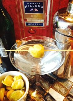 The MUL Martini with #Kimcheelicious Mul Kimchee and #MartinMiller's Gin!
