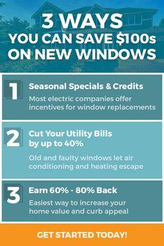 Don't waste money on new windows.