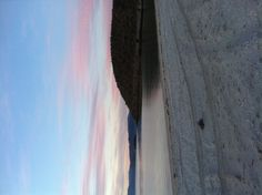 The morning sunrise on our secluded beach near Mulege.  The only tracks on the beach were from us.  Love it.