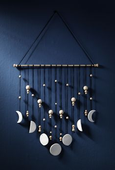 Clay wall hanging www.pandurohobby.com Clay by Panduro #decoration #DIY