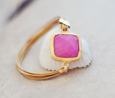 spring fashion sweet bright candy pink jade  large by YUNILIsmiles, $43.00  Me likey!