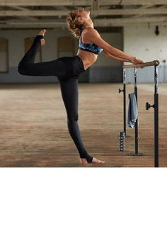 These models are getting us pumped to hit the gym: Candice Swanepoel stretches it out.